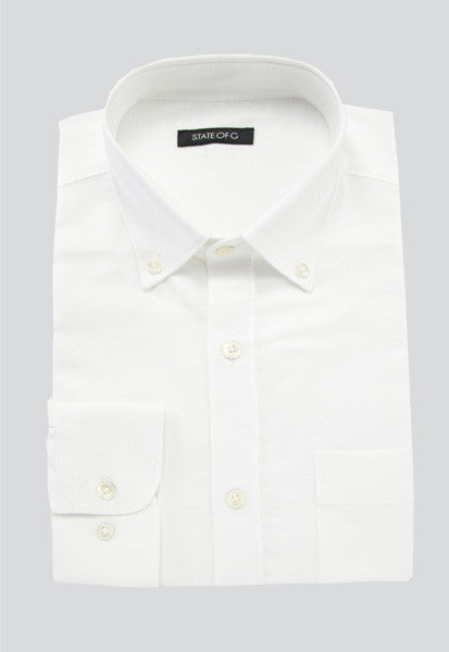 Men's Oxford Button-Down - White