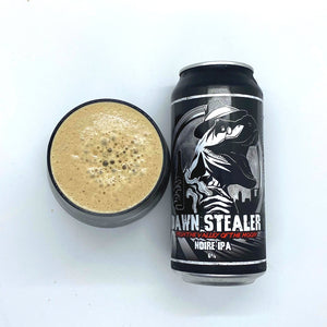 Dawn Stealer: From the Valley of the Moon! 5.2% IPA - Black / Cascadian Dark Ale