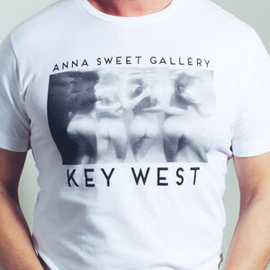 Anna Sweet Gallery - Men's White Tee