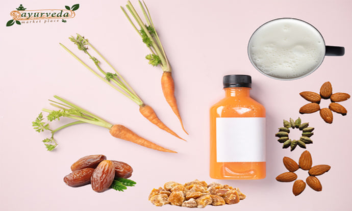 Balancing your Dosha with Carrot Milk