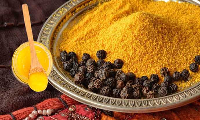 Winter-Worth Ayurvedic Trio: Turmeric, Black Pepper, Ghee