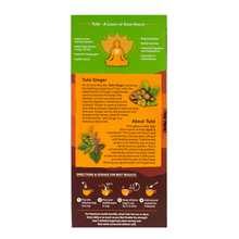 Load image into Gallery viewer, Organic India Tulsi Ginger directions