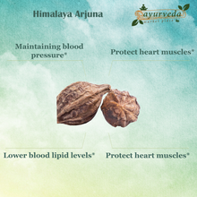 Load image into Gallery viewer, Himalaya Arjuna benefits