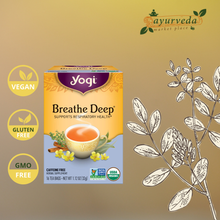 Load image into Gallery viewer, Yogi Breathe Deep Tea Vegan | Gluten Free | GMO Free