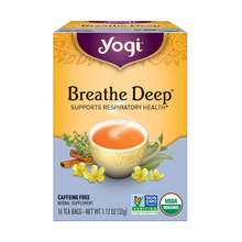 Load image into Gallery viewer, Yogi Breathe Deep® Tea