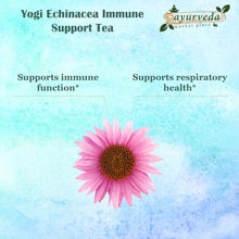 Load image into Gallery viewer, Yogi Echinacea Immune Support Tea - benefits