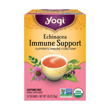 Load image into Gallery viewer, Yogi Echinacea Immune Support Tea