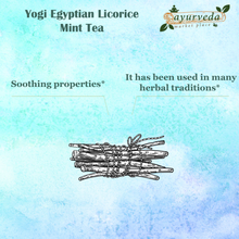 Load image into Gallery viewer, Yogi Egyptian Licorice Mint Tea - benefits