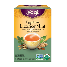 Load image into Gallery viewer, Yogi Egyptian Licorice Mint Tea