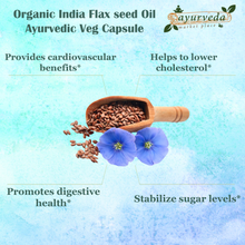 Load image into Gallery viewer, Organic India Flax seed Oil - benefits