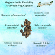 Load image into Gallery viewer, Organic India Flexibility Ayurvedic Veg Capsule