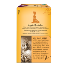 Load image into Gallery viewer, Yogi Ginger Tea yoga