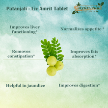 Load image into Gallery viewer, Patanjali - Liv Amrit Tablet benefits
