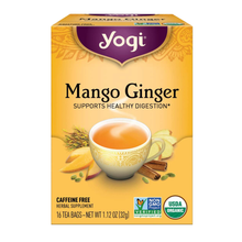 Load image into Gallery viewer, Yogi Mango Ginger Tea