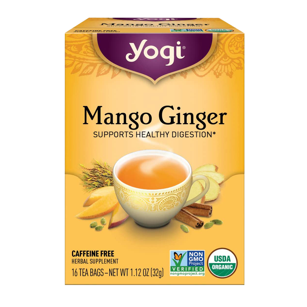 Yogi Mango Ginger Tea