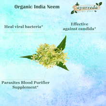 Load image into Gallery viewer, Organic India Neem benefits