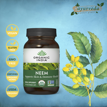 Load image into Gallery viewer, Organic India Neem vegan | USDA