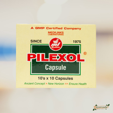 Medilinks Laboratories Pilexol Capsule - ayurvedmarketplace.