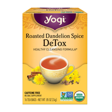 Load image into Gallery viewer, Yogi Roasted Dandelion Spice DeTox Tea