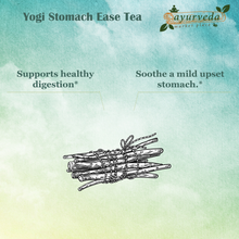 Load image into Gallery viewer, Yogi Stomach Ease Tea benefits