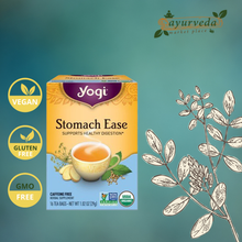 Load image into Gallery viewer, Yogi Stomach Ease Tea Vegan | Gluten Free | GMO Free