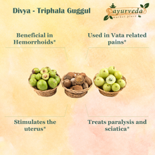 Load image into Gallery viewer, Divya - Triphala Guggul benefits
