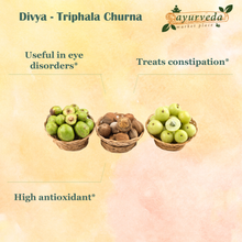 Load image into Gallery viewer, Divya - Triphala Churna benefits