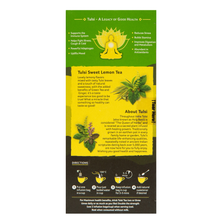 Load image into Gallery viewer, Organic India Tulsi Sweet Lemon Tea directions