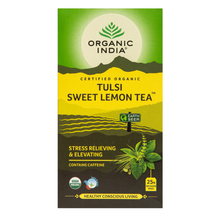 Load image into Gallery viewer, Organic India Tulsi Sweet Lemon Tea