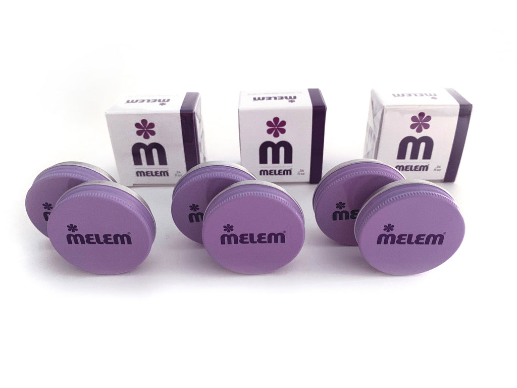 6 Melem Skin and Lip Balm Mini Tins