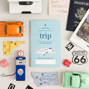Kids journal for recording trips he/she has taken.
