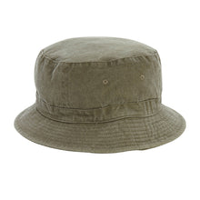 Load image into Gallery viewer, Tan Patch Bucket Hat