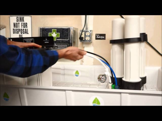 Connecting the PreEvolution™ to the Evolution-RO1000™ Reverse Osmosis