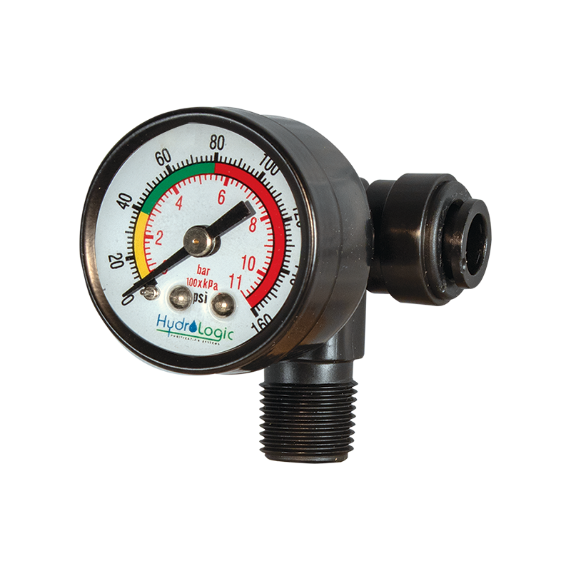 Stealth-RO™ Pressure Gauge Fitting Assembly