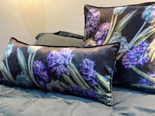 Load image into Gallery viewer, Rectangular Scatter Pillow with floral print and fruits, BOLTE Home Textiles Collection