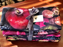 Load image into Gallery viewer, Bespoke Napkins with floral print and fruits, BOLTE Home Textiles Collection