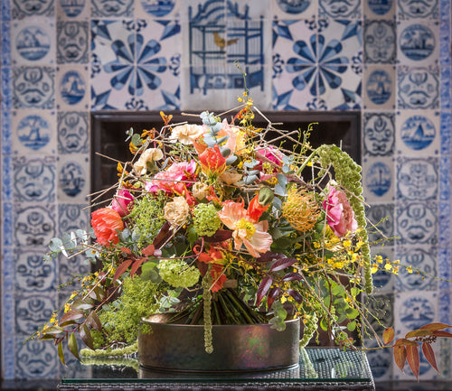 Luxury Event Florist London Colourful Spring Bouquet