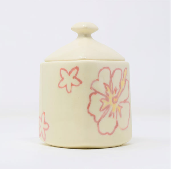 750 ml Square Ceramic Jar with Lid