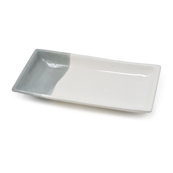 Rectangular Ceramic Tray 12 inch