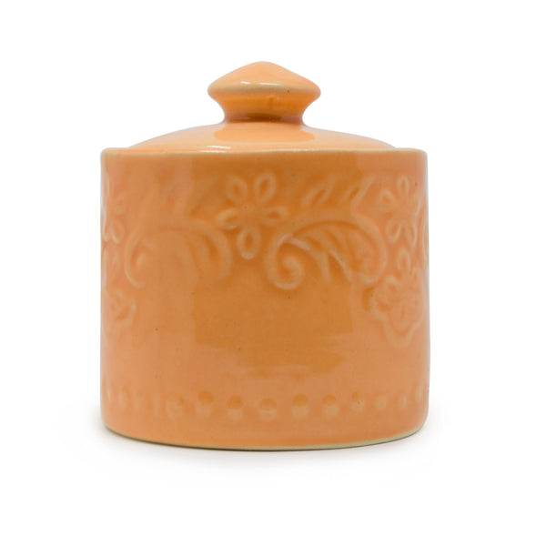 400 ml Ceramic Jar with Lid