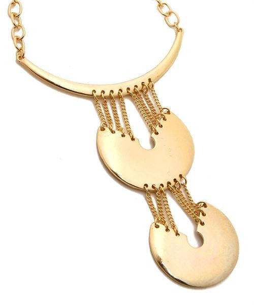 Dangling Sphere Necklace