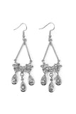 Rhinestone Dangled Earrings
