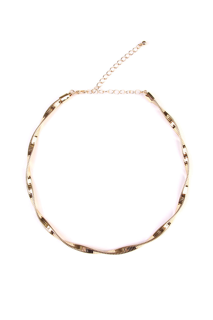 Metal Twist Choker