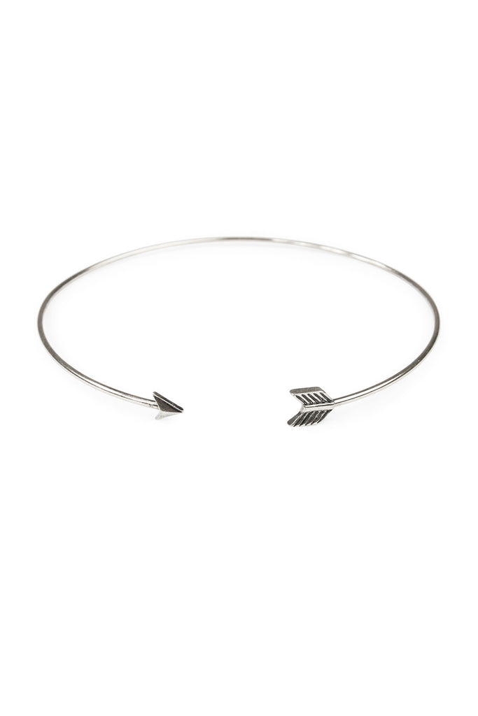 Tribal Curve Choker Necklace