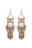 Aztec Chandelier Earrings