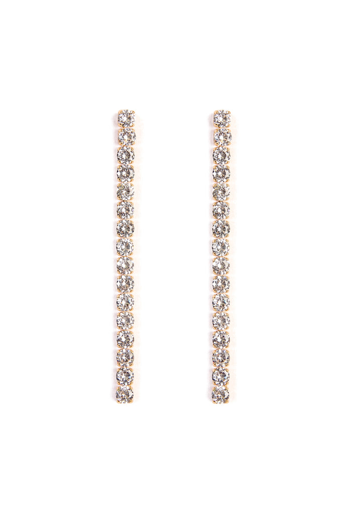 Dangle Rhinestone Earrings