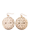 Moroccan Circle Earrings