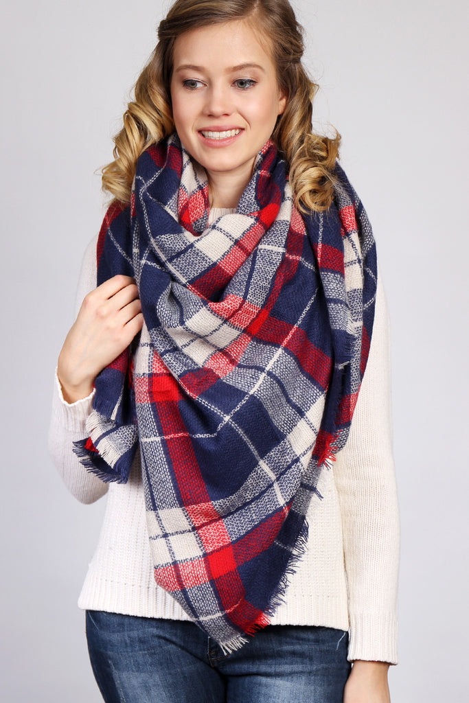 Warm Blanket Scarf