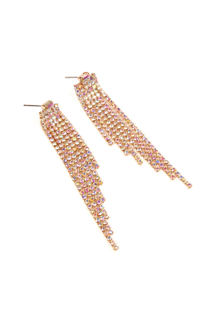Six Line Baguette Earrings