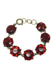 Round Glass Crystal Bracelet